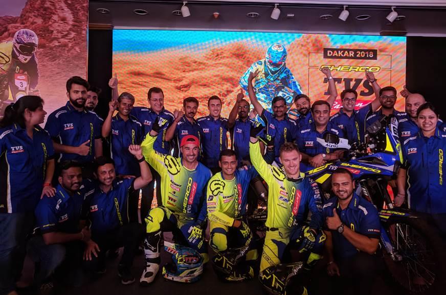 Sherco TVS announces rider squad for Dakar 2018