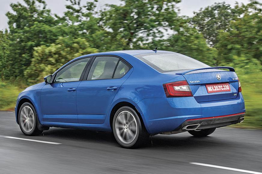 The Octavia RS' suspension masks speeds, feels at home in...