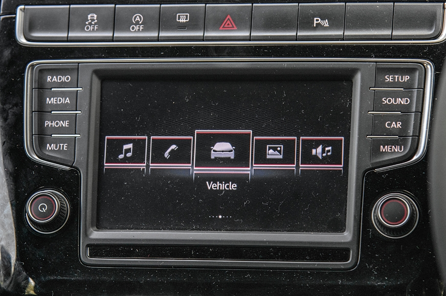 The VW's screen is nice to use, but misses Apple and Andr...