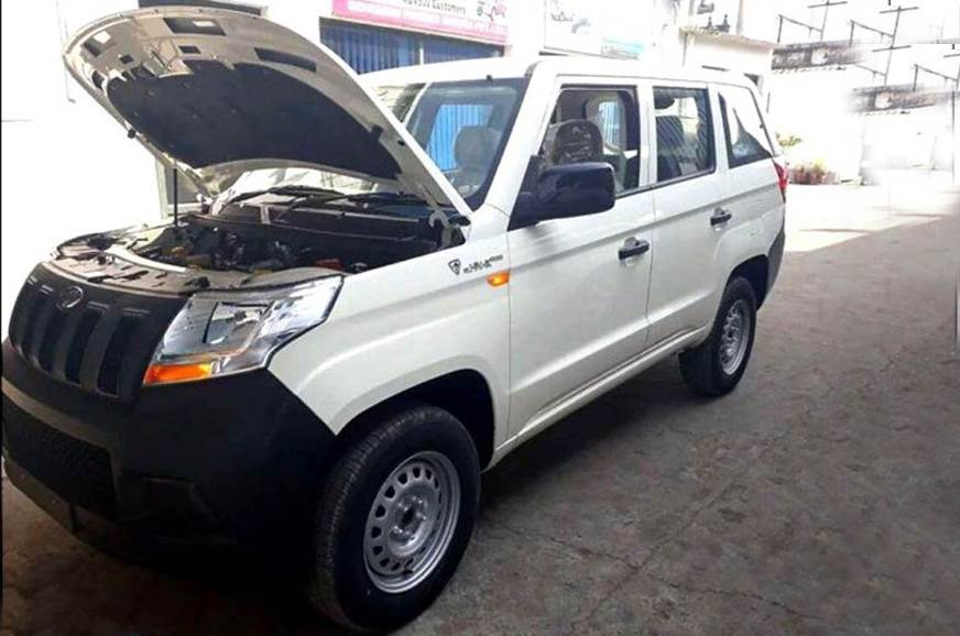 Mahindra TUV300 Plus ready for launch