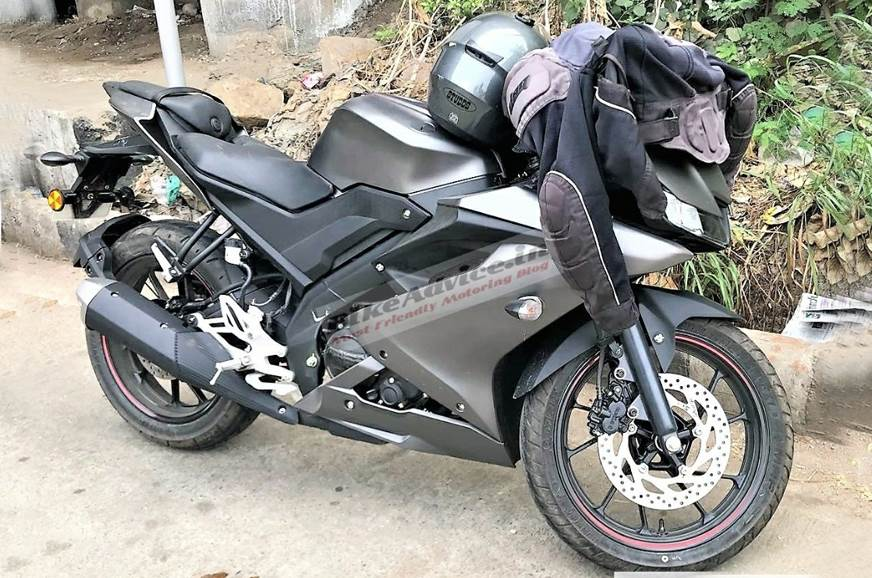 Yamaha YZF R15 v3.0 spied in India
