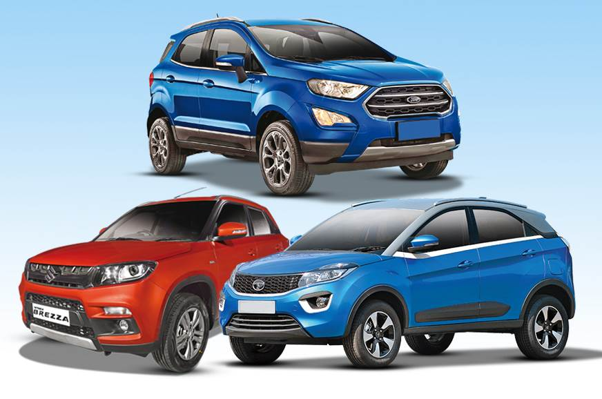 2017 Ford EcoSport vs rivals: Specifications comparison
