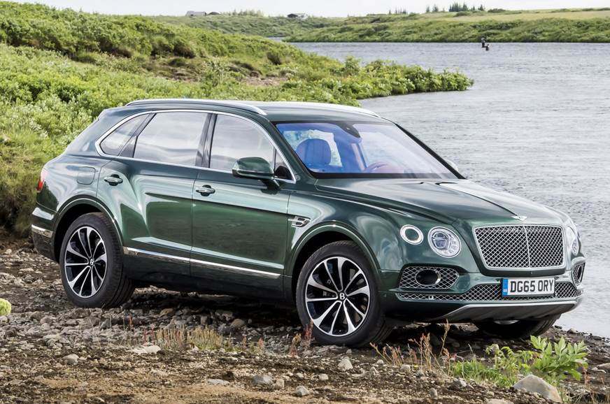 Bentley to unveil Bentayga plug-in hybrid in 2018