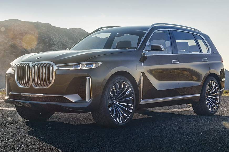 The X7 previews the new design language for future BMW SUVs.