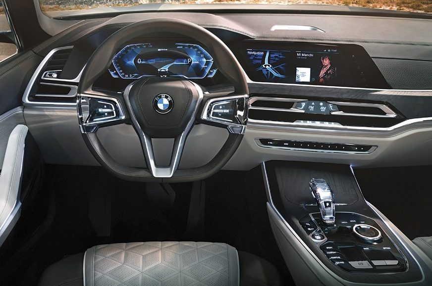 Concept car interiors will be similar to those of product...