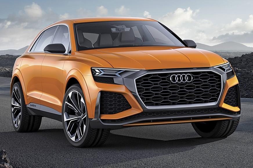 Audi Q8 concept.
