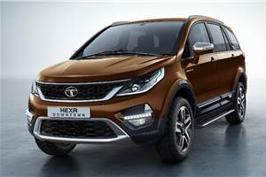 Tata Hexa Downtown launched at Rs 12.18 lakh