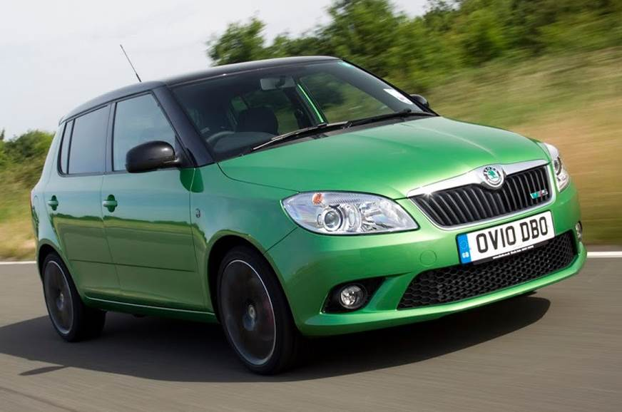 While the second-gen Skoda Fabia came with a vRS version, the current-gen does not.