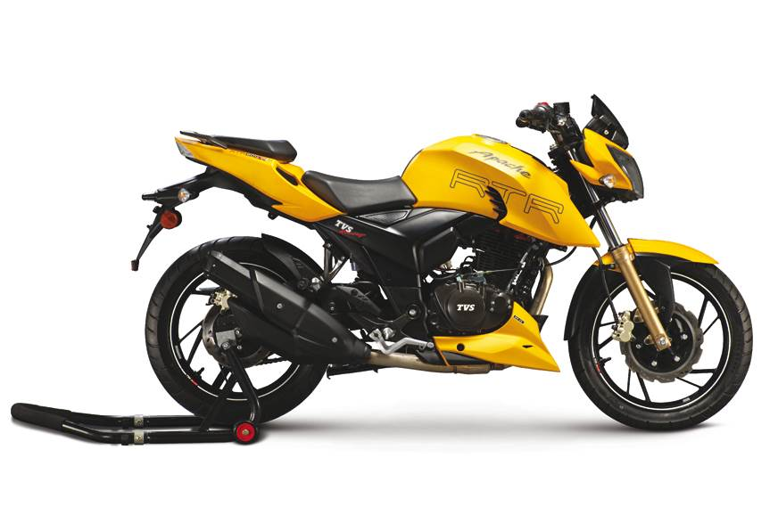 TVS Apache RTR 200 Fi4V launched at Rs 1.07 lakh