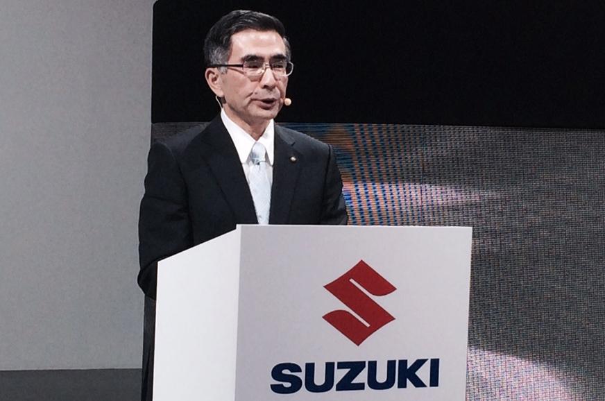 Suzuki Motor Corporation CEO Toshihiro Suzuki.