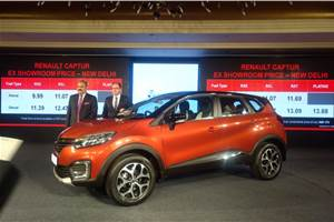 2017 Renault Captur launched at Rs 9.99 lakh