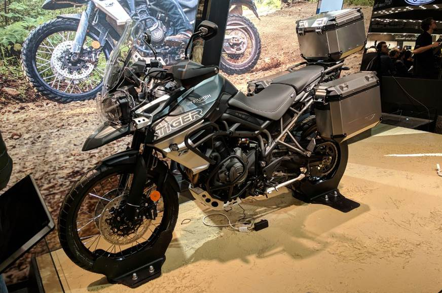 Triumph updates Tiger 800 and 1200 for 2018