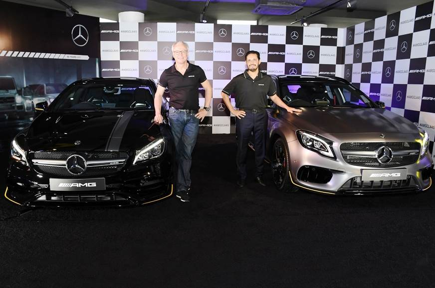 Mercedes-AMG GLA, CLA facelifts launched in India