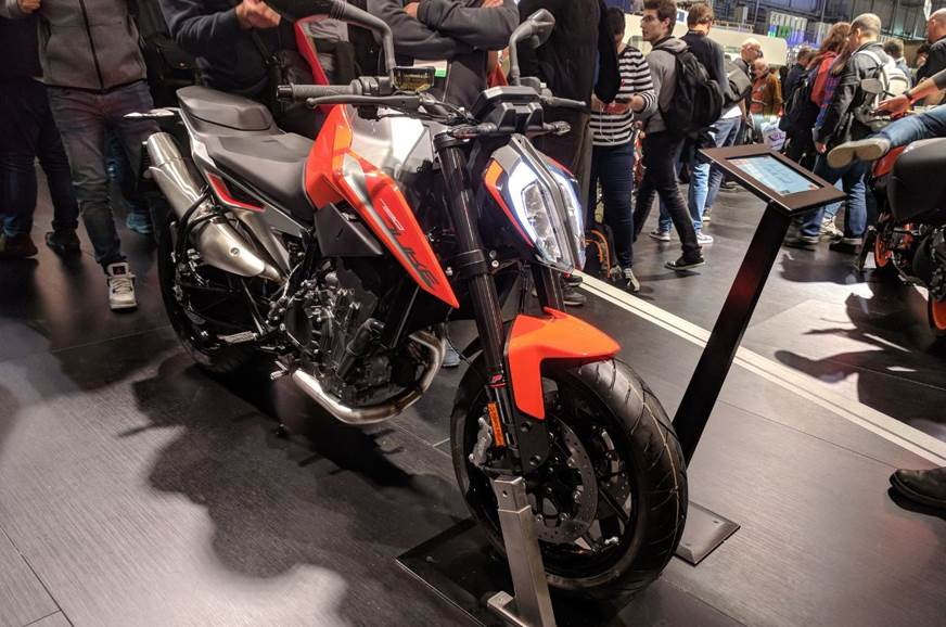 Ktm 790 Duke 790 Adventure R Prototype Showcased At Eicma