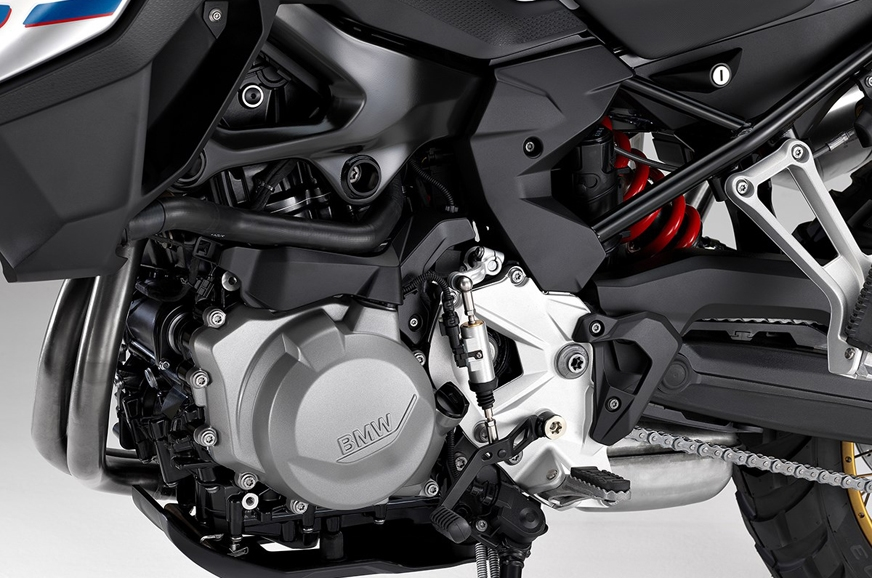 The 853cc engine that is shared between the two in differ...