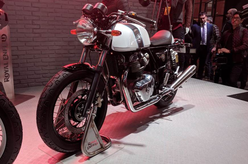 2017 Royal Enfield Interceptor 650, Continental GT twin revealed