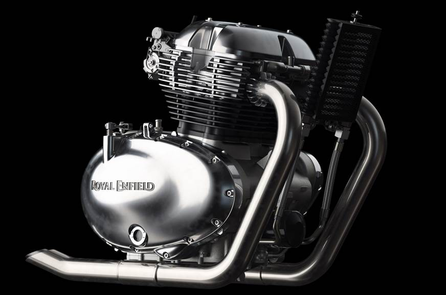 Royal Enfield 650cc parallel-twin engine revealed