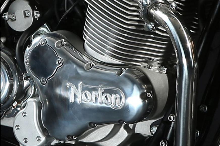 Norton Commando 961 Cafe Racer's 961cc engine.