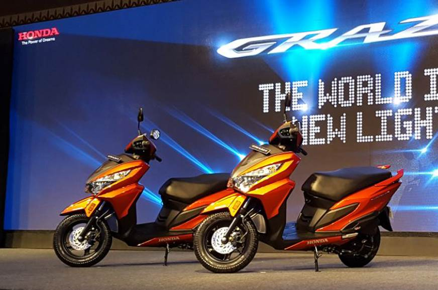 2017 Honda Grazia launched at Rs 57,897