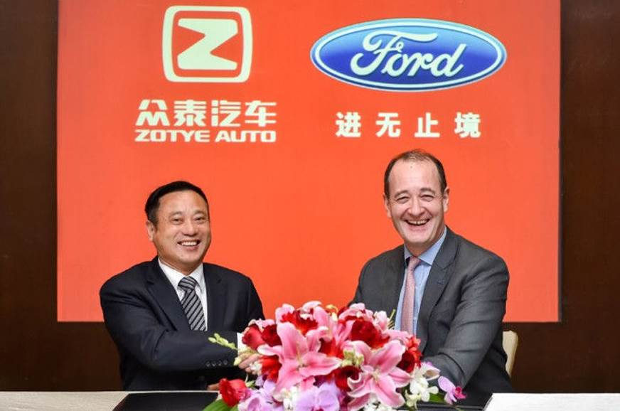 Ford and Zotye to develop affordable all-electric vehicles for China