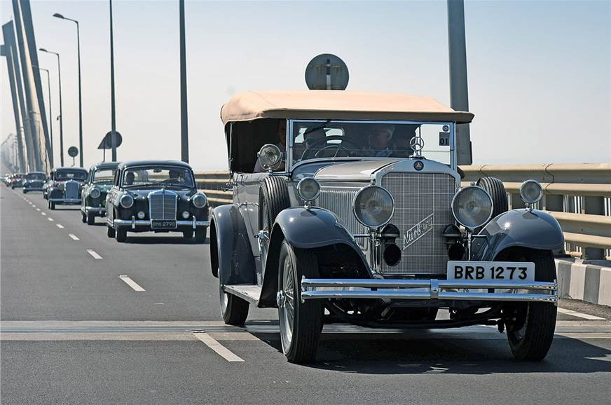 Mercedes Classic Car Rally to be held on November 12, 2017