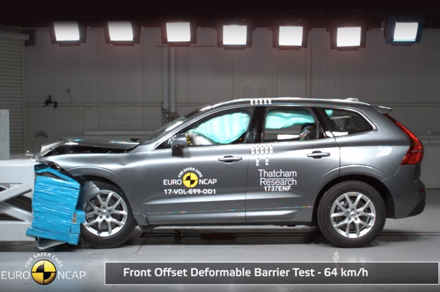New volvo xc60 gets five star rating in euro ncap tests for Star motor cars volvo