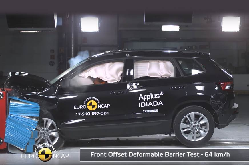 India-bound Skoda Karoq scores five stars in Euro NCAP tests
