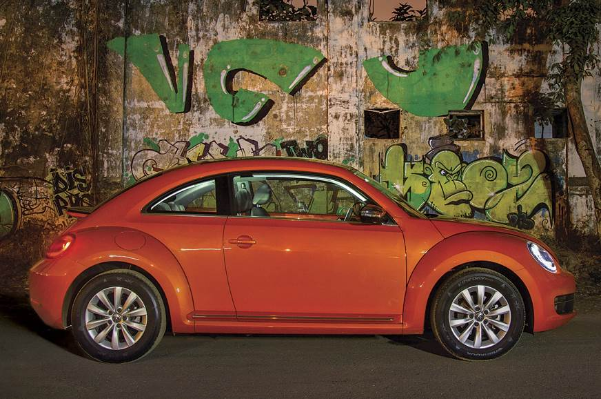 All-electric Volkswagen Beetle with RWD under evaluation