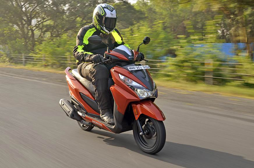 2017 Honda Grazia 125 review, test ride