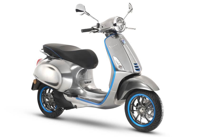 Piaggio Vespa Elettrica e-scooter showcased in Italy