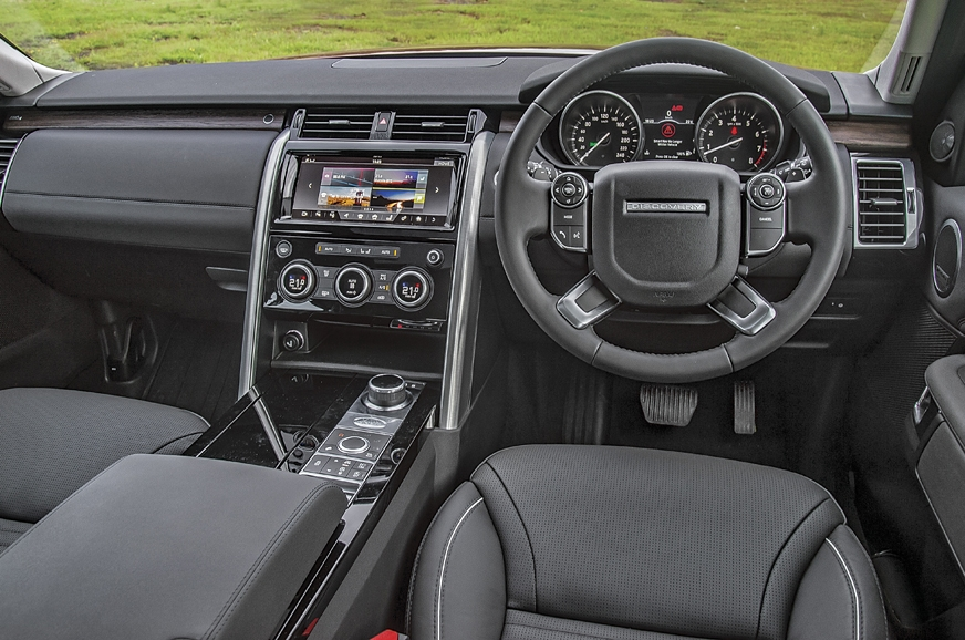The Discovery's cabin isn't flamboyant but chunky look co...