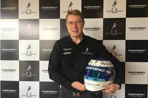 Mika Hakkinen in India to promote safe driving