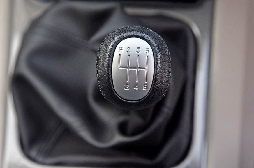 Six-speed gearbox is all new and nice to use except for t...