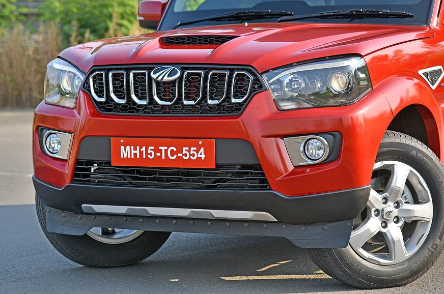 Scorpio now gets a new seven-slotted front grille that lo...