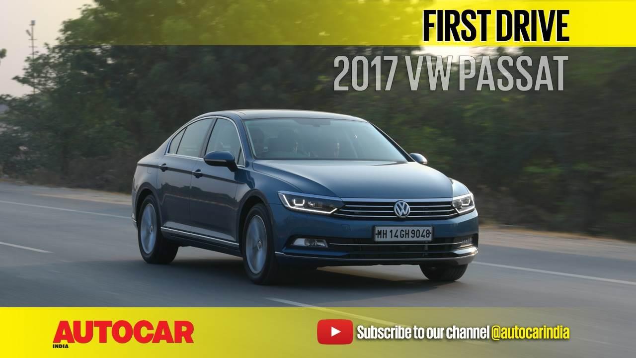 2017 Volkswagen Passat video review