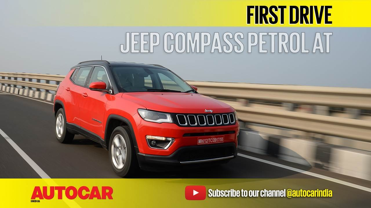 2017 Jeep Compass petrol AT video review