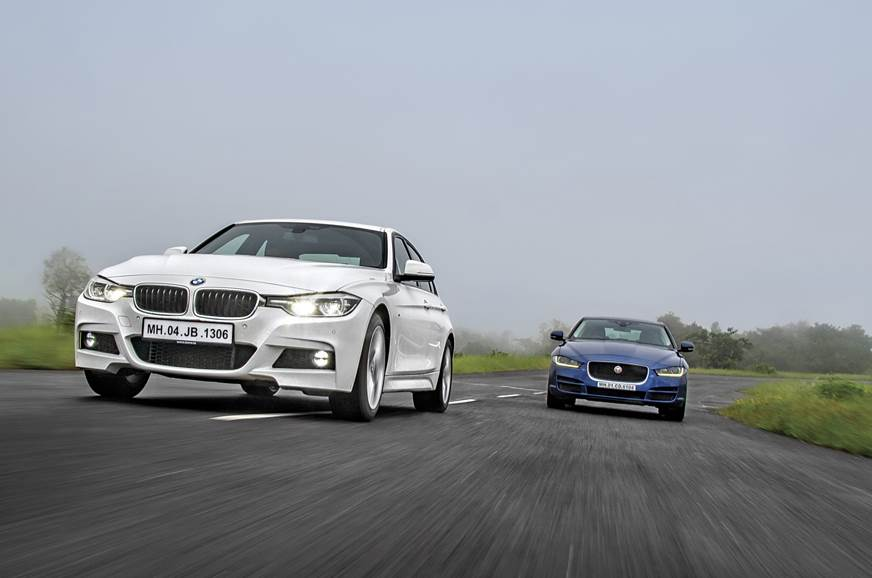 2017 BMW 330i vs Jaguar XE 25t comparison