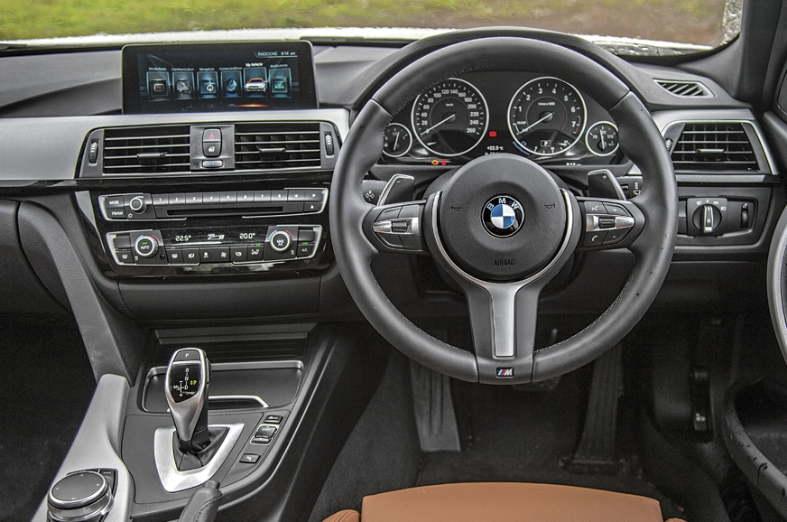 Though the 3-series' cabin is starting to look dated now,...
