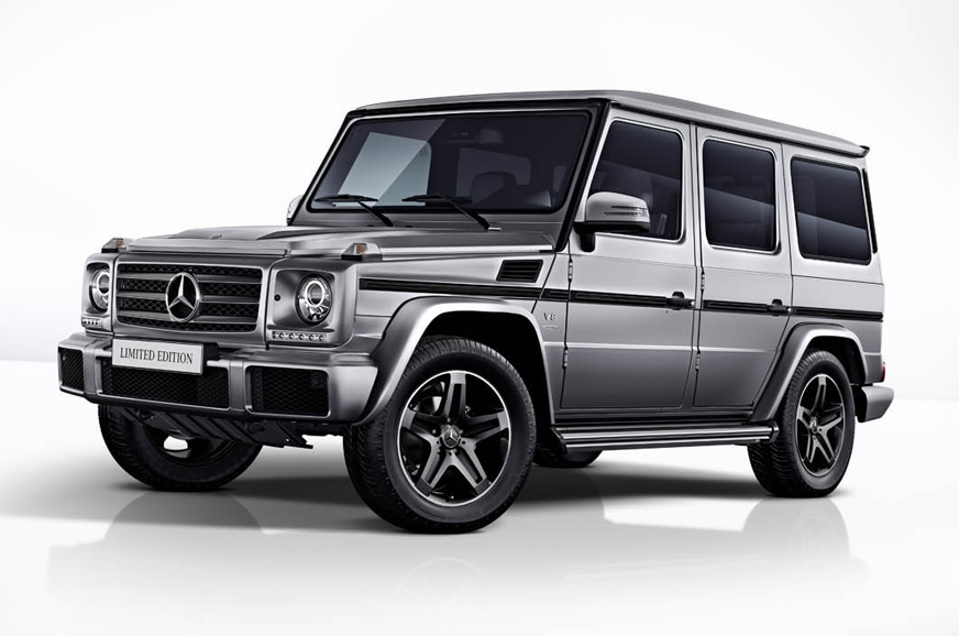 A limited edition of the current-gen G-class.