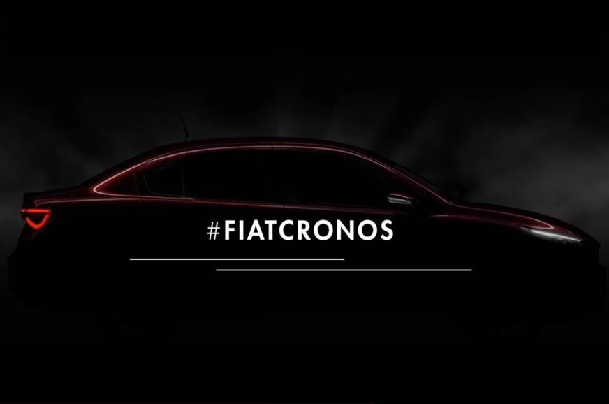 Fiat Cronos sedan teased ahead of January reveal