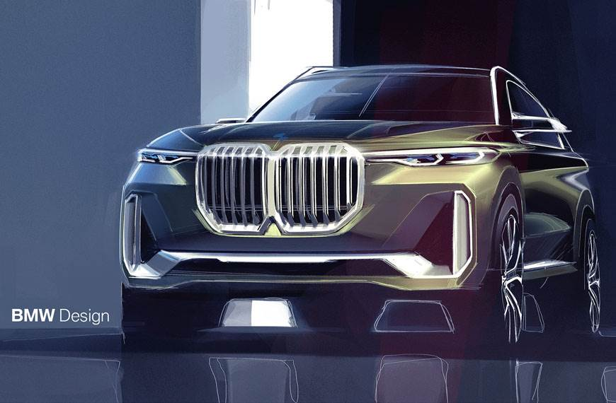 Full-size BMW X8 SUV Coupe to come by 2020 - Autocar India
