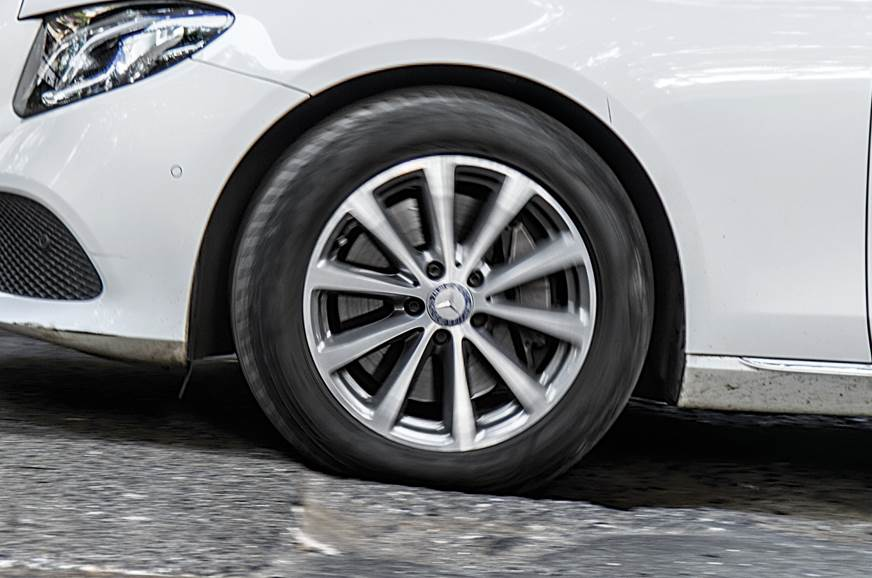 TALL TYRES: 55-profile tyres on 17-inch wheels cushion yo...