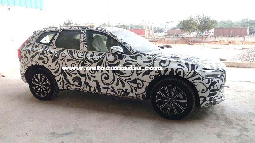 All-new Volvo XC60 spied in India ahead of December launch