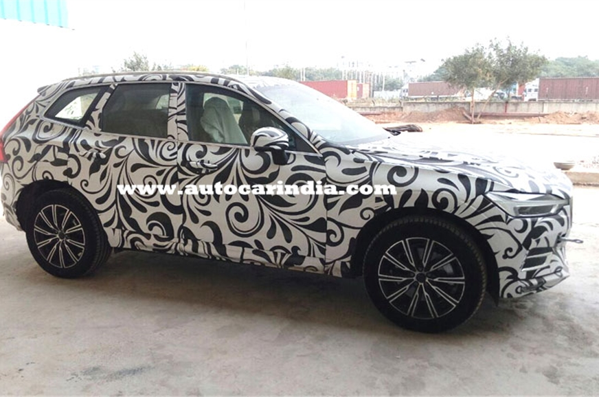 Volvo has begun testing the soon-to-be launched XC60 in I...