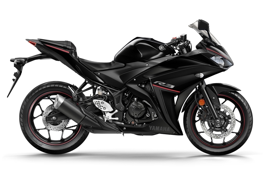 The black finish on the new R3 is called 'Raven'.