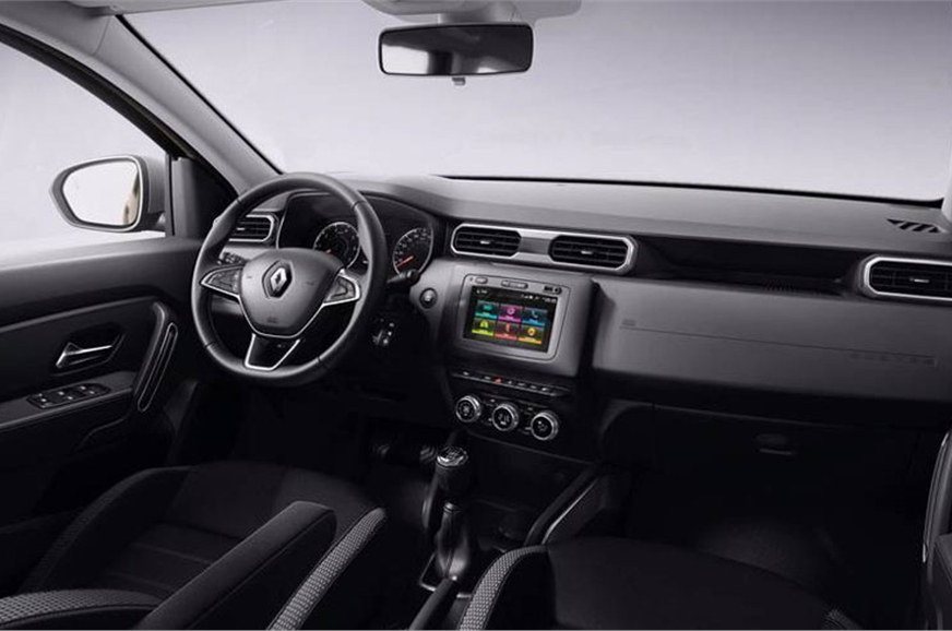 New Renault Duster interior.