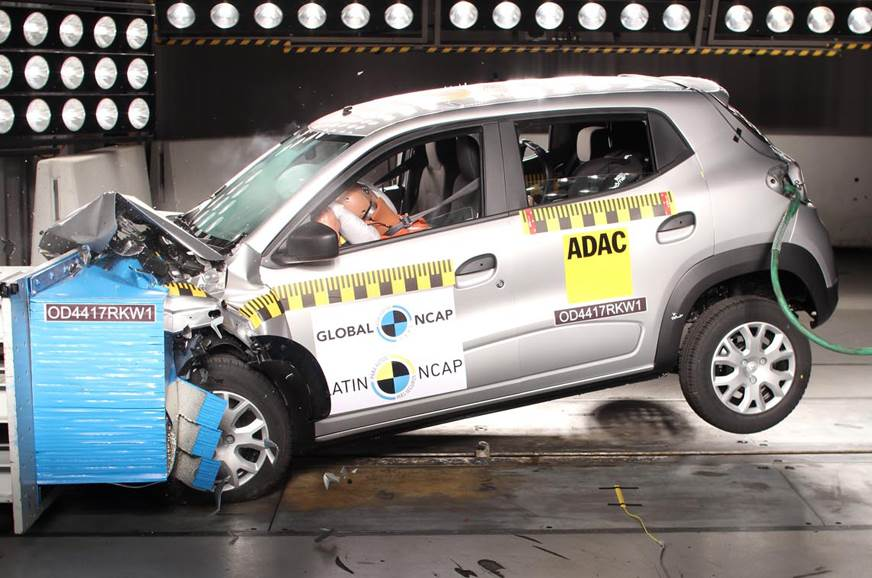 Brazil-spec Renault Kwid achieves three-star Latin NCAP rating