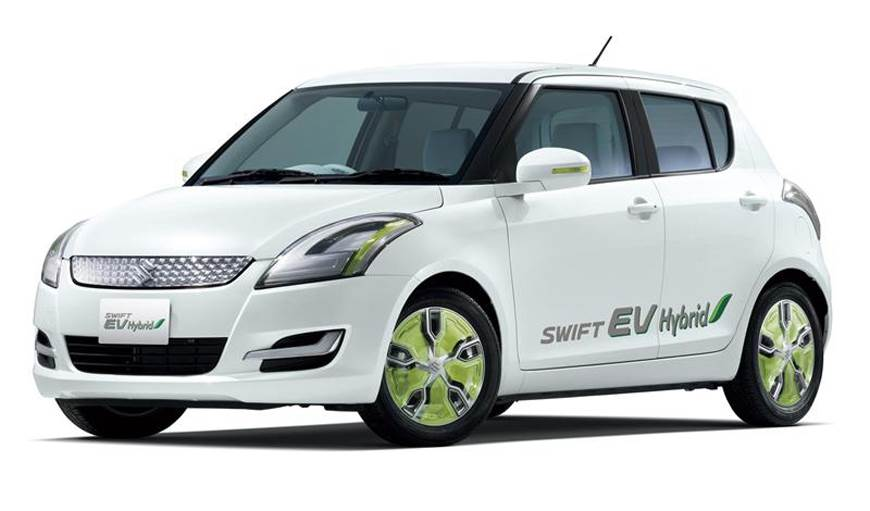 Suzuki Swift EV hybrid shown for representation purpose.