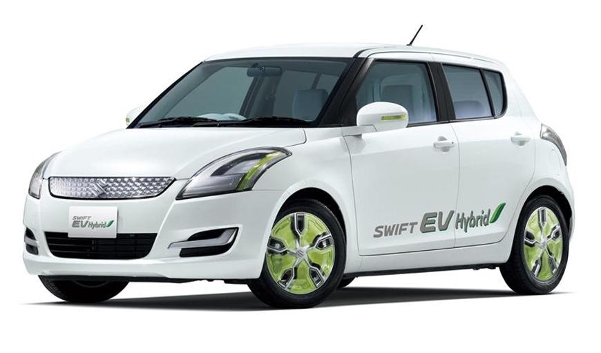 Suzuki Swift EV hybrid shown for representation purpose.