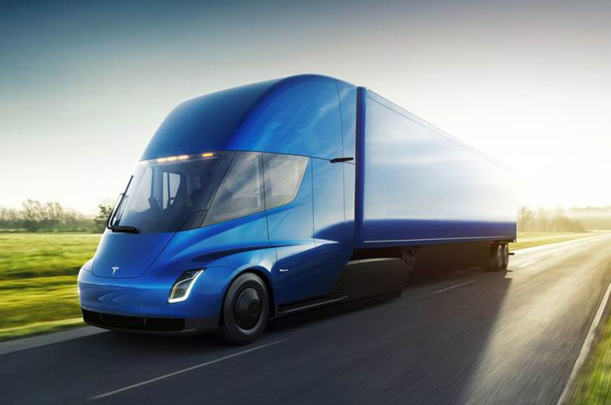 All-electric Tesla Semi truck revealed